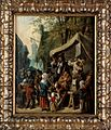 Quacks on stage, with many figures around. Oil painting attr Wellcome L0025263.jpg