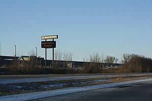 Quad/Graphics - Quad plant near Lomira, Wisconsin, along U.S. Highway 41