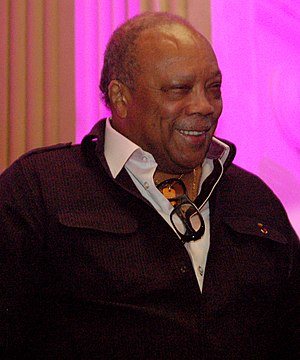 Quincy Jones - Jones at a performance of The Hot Chocolate Nutcracker, December 2010