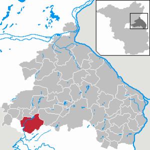 Rüdersdorf - Image: Rüdersdorf bei Berlin in MOL