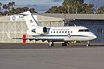 RAAF (A37-003) Bombardier CL-600-2B16 Challenger 604 taxiing at Wagga Wagga Airport (2).jpg