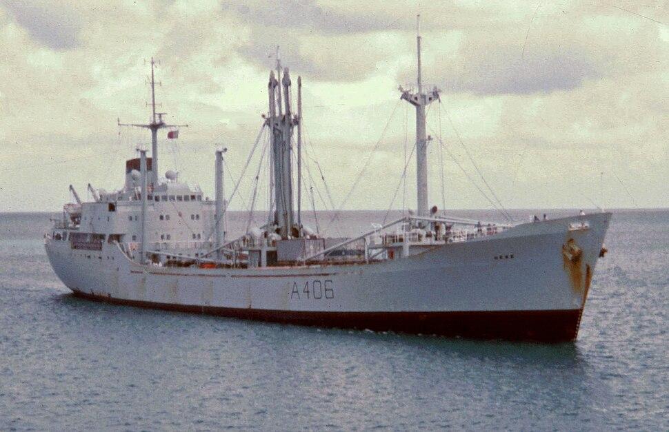 RFA Hebe 1972