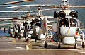 RIAN archive 139612 Helicopters on deck of the Novorossiisk cruiser.jpg