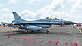 ROCAF F-16A 6718 Right View at Ching Chuang Kang AFB Apron 20140719.jpg