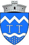Coat of arms of Tărlungeni
