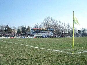 Stadionul Ion Comșa - Image: RO CL Calarasi Dunarea Stadium