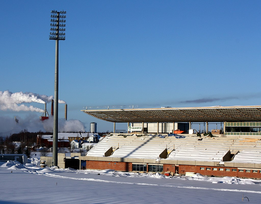Redeveloping of Raatti Sports Centre in Oulu, Finland.