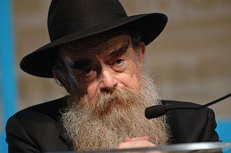 Abraham Shemtov - Rabbi Abraham Shemtov speaks to supporters at the Hilton New York