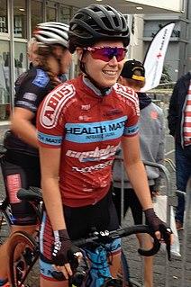 Suzanne Verhoeven Belgian cyclist