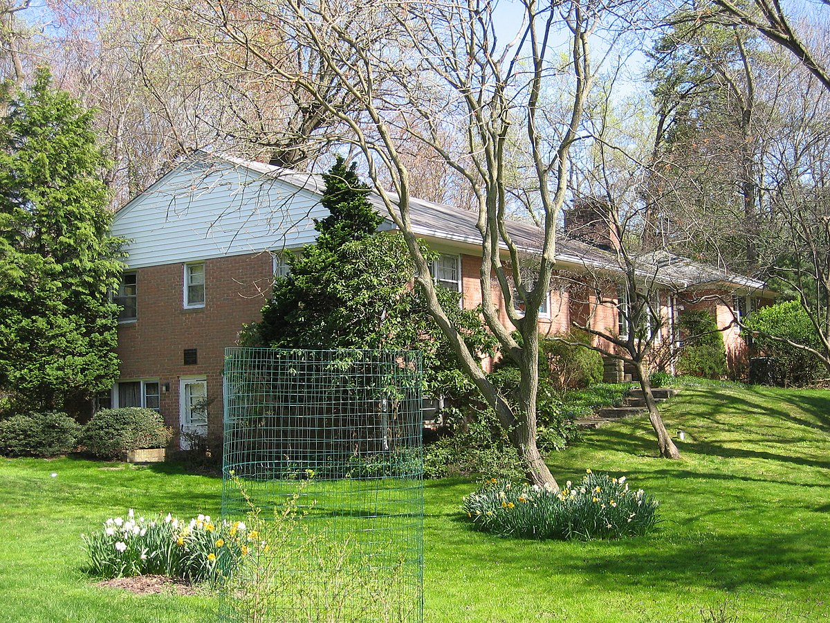 Rachel carson house colesville maryland wikipedia for Ranch style homes in maryland