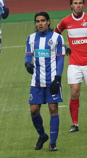 Radamel Falcao - Falcao playing for FC Porto in 2011
