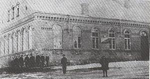 Raduń Yeshiva - Building of Yeshivas Chofetz Chaim, Radin