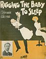 Ragging the baby to sleep 1912.jpg