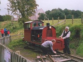 Heatherslaw Light Railway - Image: Railway turntable geograph.org.uk 913101