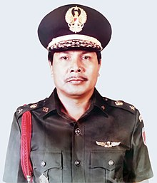 Raja Inal Siregar as the Commander of the 13th Regional Military Command (Merdeka).jpg