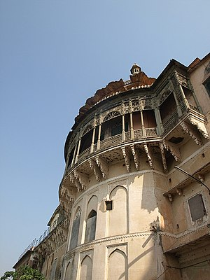 Ramnagar Fort in Varanasi.jpg
