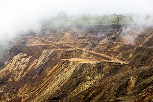 Mining in Malaysia - Copper mine in Sabah.
