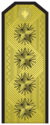 Rank insignia of Адмирал of the Bulgarian Navy.png