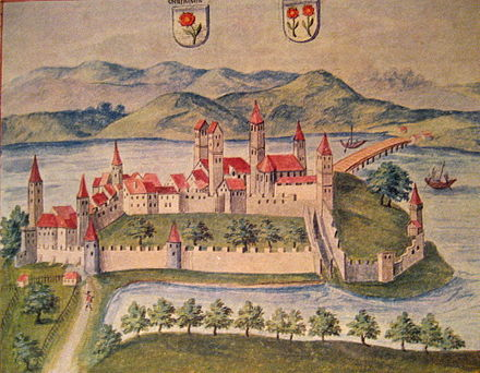 Rapperswil on Codex Vindobonensis (1550)