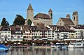 Rapperswil - Schloss - Stadtpfarrkirche - Seequai-Hafen - Seedamm 2012-10-05 15-30-00.JPG