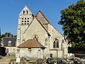 Raray (60), église Saint-Nicolas, vue depuis l'est 2.JPG