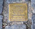 Ravensburg Marienplatz17 Stolpersteine Finsterhölzl Elsa.jpg