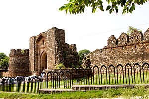 Rawat Fort - A view of the fort's main entrance