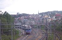 The railway in Narvik