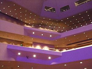 Nottingham Royal Concert Hall - Inside the auditorium of the Royal Concert Hall, Nottingham