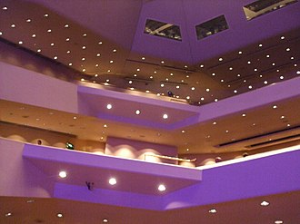 Nottingham Royal Concert Hall - Inside the auditorium of the Royal Concert Hall, Nottingham