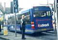 Reading Transport bus Optare Fastrack Park and Ride livery, Reading, 1999.jpg