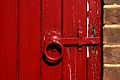 Red Door In Chobham Village 2 Surrey UK.jpg