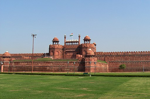 Red Fort, Delhi by alexfurr