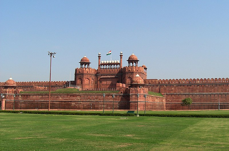 Datei:Red Fort, Delhi by alexfurr.jpg