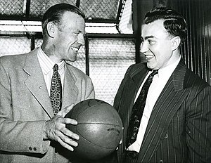 Red Rolfe - Rolfe and Ray Meyer in 1942