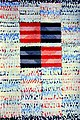 """Red and Blue Abstract Painting """"Diamond Meditation"""" by Bruce Black.jpg"""