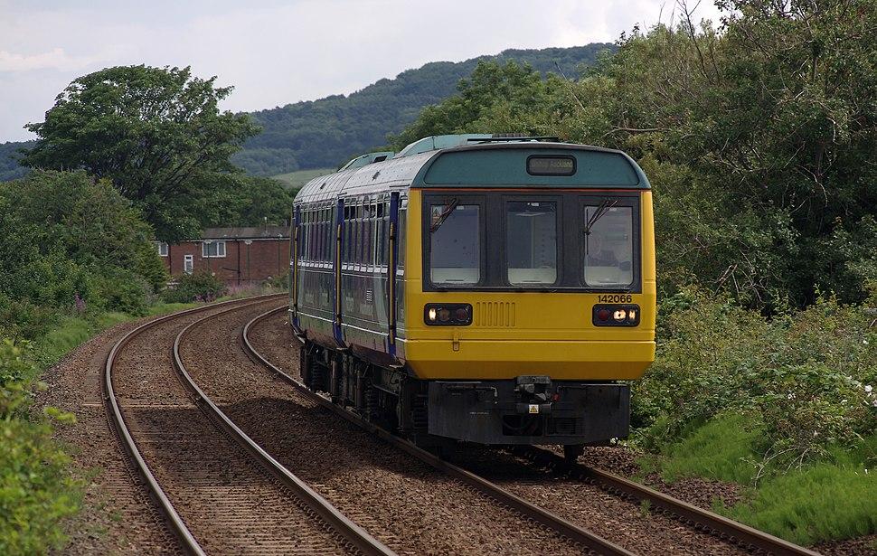 Redcar East railway station MMB 02 142066