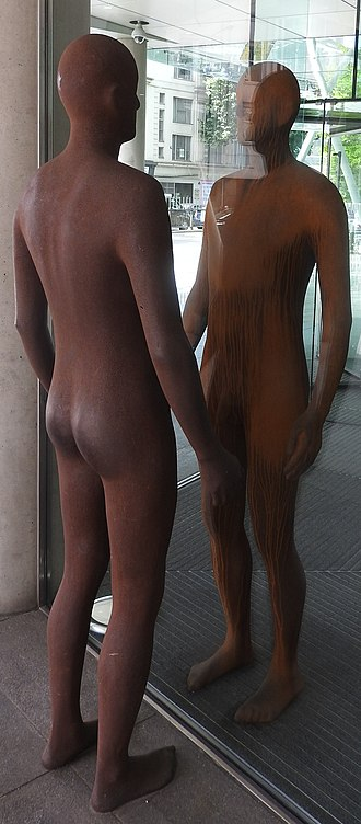 Regent's Place - Reflection 2004,  Sir Anthony Gormley