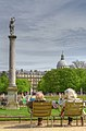 Relaxing in Jardin du Luxembourg, Paris April 2011.jpg