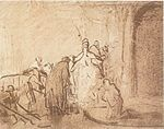 Rembrandt Study for Judas Returning the Thirty Pieces of Silver.jpg