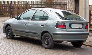 Renault Mégane - Pre facelift Renault Mégane five door