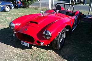 1961 Australian Grand Prix - The Ricardian which was driven by John Newmarch in the 1961 Australian Grand Prix. The car is pictured at Mallala in 2012