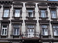 Residential building. Balcony. Monument ID 12192 - Budapest, District VI., Király St., 78.JPG