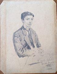 Retrat de Joaquim Cabot de jove
