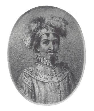 Medellín - Portrait of Marshal Jorge Robledo