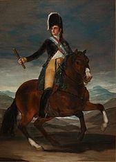 Retrato ecuestre de Fernando VII