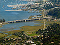 Richardson Bay and Richardson Bay Bridge in Marin County.jpg