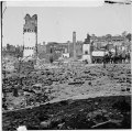Richmond, Va. Grounds of the ruined Arsenal with scattered shot and shell LOC cwpb.02639.tif