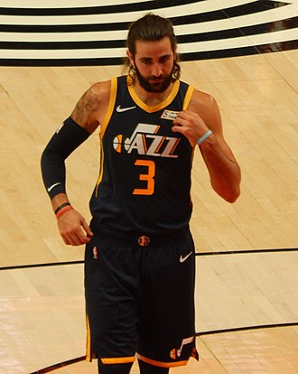 Ricky Rubio - Rubio with the Utah Jazz in 2018