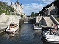 Rideau Canal Ottawa Locks with boats transiting.jpg